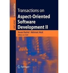 Introducing Transactions on Aspectoriented Software Development v 2 Focus Aop Systems Software and Middleware Lecture Notes in Computer Science Paperback  Common. Great product and follow us for more updates!