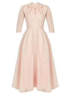 Click here to buy Emilia Wickstead Hera ruffled-organza A-line dress at MATCHESFASHION.COM