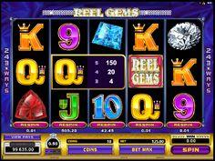 Automatové hry Reel Gems - Microgaming pre svojich fanúšikov pripravil 243 spôsobov výhry na automatových hrách Reel Gems na 5 valcoch. #HracieAutomaty #VyherneAutomaty #Jackpot #Vyhra #Reel #Gems - http://www.hracie-automaty.co/sloty/automatove-hry-reel-gems