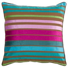 I pinned this Seton Pillow in Raspberry from the A Punch of Summer event at Joss and Main!