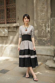 double color grey black sundressmore colour and by FashionColours, $73.00