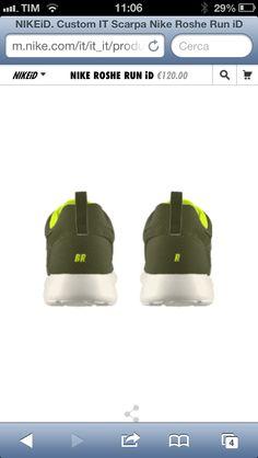 Customized Nike Roshe run