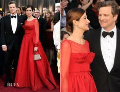 Livia Firth In Valentino - 2012 Oscars