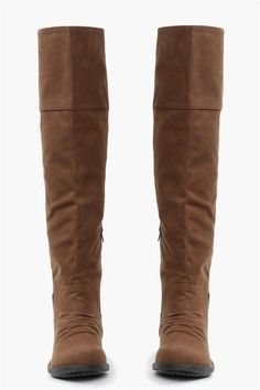 Tall Brown Boots.