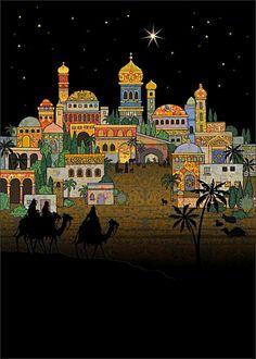 Jane Crowther — Entering Bethlehem  (650x910)