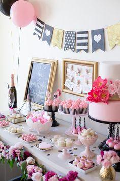 Decoração para o Dia dos Namorados - Valentine's day party #festa #party #decoração #romantico #rosa #bellafiore