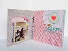 "Mini album ""any one day"" by @Macaliu Peña peña at @Margaret Cho Bham paper #lovenote"