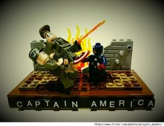 Project Azazel Captures Superhero Movie Scenes In Awesome Lego Dioramas - ComicsAlliance | Comic book culture, news, humor, commentary, and reviews