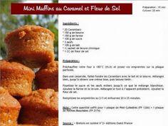 Mini muffin caramel et fleur de sel