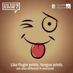 Understand the fascinating facts about your #tongue.