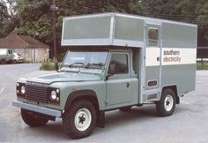 Southern Electricity Landrover 127 IT fitters van Car In The World, Commercial Vehicle, Land Rover Defender, Cars And Motorcycles, Recreational Vehicles, Land Rovers, Camper, Vans, Trucks