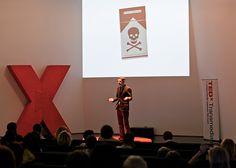 TEDxTransmedia ROME 2012 - Andrew Shea - Speaker - Shot by @LisaLemee