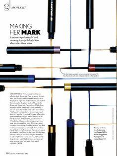 Natasha V. Makeup Magazine, Beauty Magazine, Editorial Layout, Editorial Design, Beauty Editorial, Magazine Design, Magazine Layouts, Visual Advertising, Book Layout