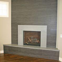 stucco fireplaces | smooth stucco wall Modern Fireplaces