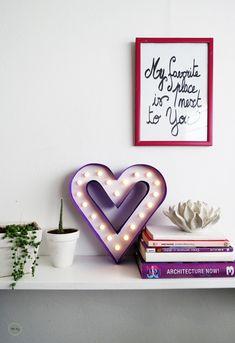 Como hacer un corazón iluminado – San Valentín – Comando Craft