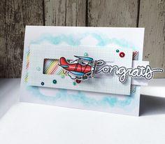 Plane Slider Card!   Kerenbaker's Blog
