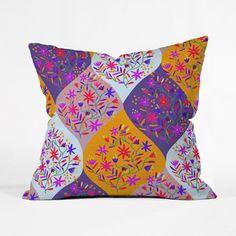Yasmine Throw Pillow Cover http://dotandbo.com?r=6tYubU