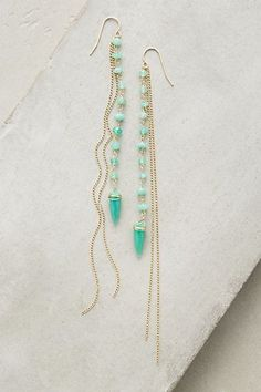 Hamoa Duster Earrings #anthropologie, love these!!!