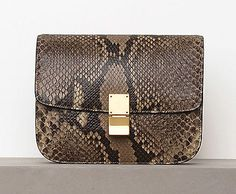 The Bags of Celine Winter 2012. Exotic in snake prints