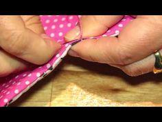 Passo a Passo de um porta celular em tecido por Taís H. Fávero e Isadore Domingos - YouTube