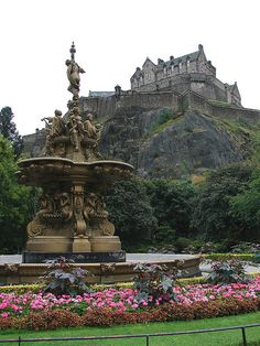Edinburgh Castle, in Edinburgh, Scotland