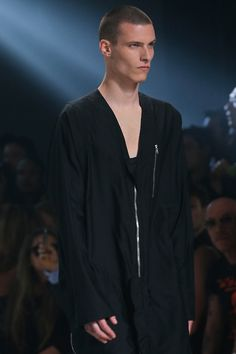 i want one of those jumpsuits!! Rick Owens SS 14 Menswear