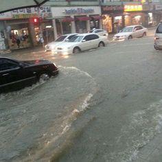 .@hyoninininiiii | #홍수#물바다#이천#수영움퐈움퐈 | Webstagram