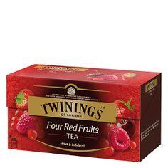 Té sabor frutas rojas
