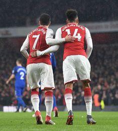 New boys Mkhitaryan & Aubameyang home debut vs Everton 2018