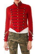 NEW Ralph Lauren Denim&Supply Cropped Military Officer Band Jacket - Womens- XL