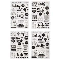 Clear Stickers  Carpe Diem by DivineElementsDesign on Etsy