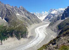 Mer de Glace, le plus long glacier de Chamonix !