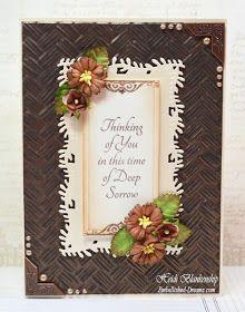 Embellished Dreams: Thinking of You Sympathy Card
