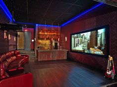 Home theater he would <3