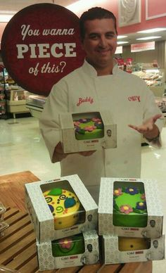 Cake Boss cakes now available at Winn Dixie!!! They are delicious   Frankly, I am Shocked he picked a Winn Dixie to represent him????   Not known for their cleanliness or a Polite staff????  surprised
