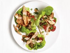 Grilled Sesame Chicken Lettuce Cups recipe from Food Network Kitchen via Food…