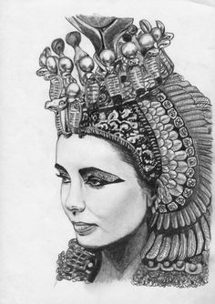 CLEOPATRA DRAWING | Cleopatra: Queen of Egypt by ~CaptainJenna on deviantART