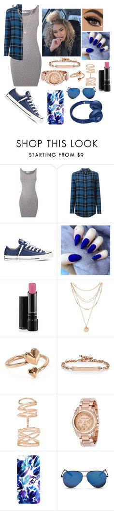 """""""Untitled #571"""" by mrsbreezy0522 ❤ liked on Polyvore featuring Equipment, Converse, MAC Cosmetics, Forever 21, Alex and Ani, Hoorsenbuhs, Repossi, Michael Kors, Samantha Warren London and Victoria Beckham"""