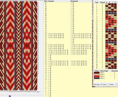 36 cards, 4 colors, repeats every 52 rows, GTT
