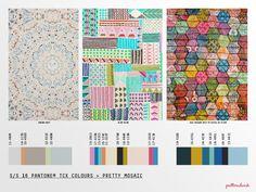 Spring/Summer 2016 - 3 X Print Trend Report Bundle + 128 Stock Designs Summer 2016 Trends, Spring Summer 2016, Spring Trends, 2016 Fashion Trends, 2015 Trends, Color Patterns, Print Patterns, Color Schemes, Fashion Forecasting