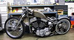 styling old school bobber