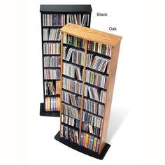 Double Media Tower | Overstock™ Shopping - Great Deals on Media/Bookshelves
