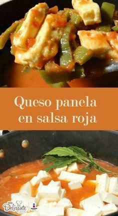 queso con salsa roja   CocinaDelirante