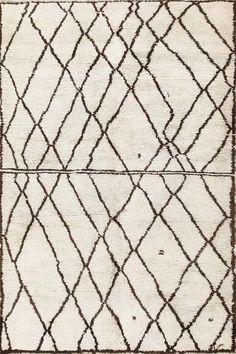 Marocchino Beige Lana Tappet TR-032150 X 240 CM ( 5'x8′ )   Arts of India – Italy