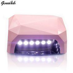 genailish UV Lamp LED Lamp 36W Nail Lamp 18Leds Nail Dryer White Light Curing for UV Gel Nails Polish Nail Art Tools-in Nail Form from Beauty & Health on ...