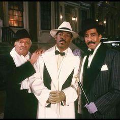 Redd Foxx, Eddie Murphy, and Richard Pryor in Harlem Nights
