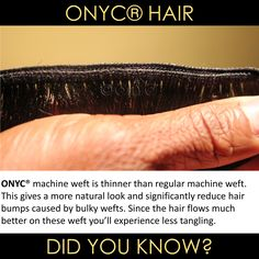 #ONYCHair has weft #hair to fulfill anyone's extension need! Choose your desired look TODAY! Shop US Now>>> ONYCHair.com Shop UK Now>>> ONYCHair.uk