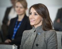Princess Marie at the summit, which deals with the challenges that people with autism often face on the job market.