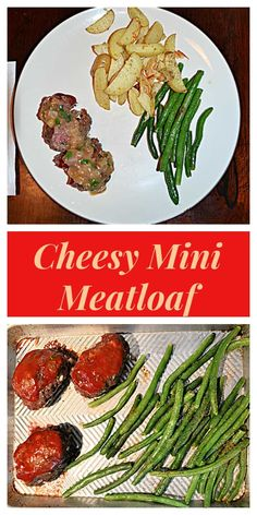 Cheesy Mini Meatloaves are the perfect portions of meatloaf. These meatloaves are filled with cheddar cheese, vegetables, and tons of flavorful spices then are topped with ketchup for a tasty dinner. #beefrecipes #meatloafrecipes #dinnerrecipes | Dinner Recipes | Mini Meatloaf | Meatloaf Recipes | Beef Recipes | Best Beef Recipes, Other Recipes, Favorite Recipes, Perfect Portions, Mini Meatloaf Recipes, Dinner Recipes, Tasty, Beef Dishes, Filet Mignon
