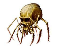 Skull Spider by *MichaelJaecks